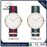 Vigilanza degli uomini delle signore dell'acciaio inossidabile dell'orologio del quarzo delle vigilanze di modo (DC-1082)