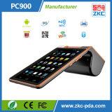 Máquina barata da posição do Android com impressora do recibo e varredor do código de barras (ZKC PC900)