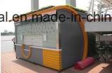 옥외 전시에 의하여 주문을 받아서 만들어지는 디자인을%s 쇼핑 부스 광고