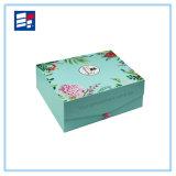 Caja de almacenamiento de joyería grande de moda con cartón