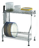 特許を取られた調節可能なクロム金属の台所皿乾燥ラック、版ラック