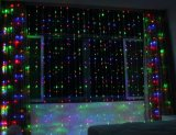 Buena luz de la cortina de la cascada de Quatily LED para la decoración de la Navidad con varios modos que contellean