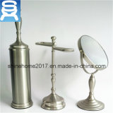 Ensemble de salle de bains pour salle de bain Accessoires pour salle de bains en verre et chromé, accessoires de salle de bains