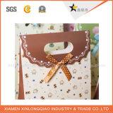 Customzied напечатало логос бумажной коробки подарка Kerchief горячий штемпелюя