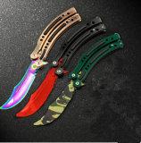 Messer-faltendes Messer volles StahlCsgo Spiel-Unopen Schaufel-Praxis-Basisrecheneinheits-Messer (SYSG-1864)