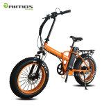熱い販売26inch強力なモーター山の脂肪質のタイヤの電気自転車