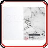 Selle faite sur commande piquant le cahier de marbre de couverture molle