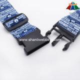 """O poliéster de alta qualidade 2 """" Calor-Transfere a cinta da bagagem da impressão com curvatura plástica"""