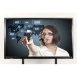 PC comercial toda de la reunión TV de la educación en una pantalla táctil