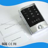 Regulador impermeable del acceso de la tarjeta del programa de lectura independiente RFID de la puerta