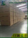 Exportación laminada MDF del papel de la melamina para el precio barato de la buena calidad de los muebles