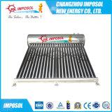 Imposolの中国の銅のヒートパイプの太陽真空管の給湯装置
