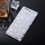 Cas de butoir protecteur Shinning de scintillement de Bling pour Huawei P9