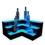 Excelente LED de acrílico estante de exhibición del vino, vino Publicidad sostenedor de la exhibición