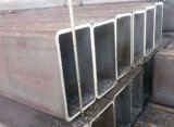 Tubo de acero rectangular galvanizado sumergido caliente de S355jr