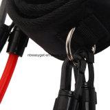Conjunto de 4 muslo de la pierna de látex banda de resistencia aptitud de la gimnasia del ejercicio del tubo fuerte correas del tobillo, Pilates y Fisioterapia Fitness Workout