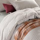 Ecoの友好的な適度販売のすべての綿の羽毛布団カバー