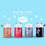 Bottiglia di acqua sveglia del Thermos dell'acciaio inossidabile del gatto per la promozione
