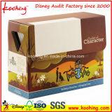 Коробка упаковки Kitchenware цвета гофрированной бумага напечатанная таможней