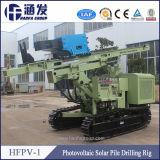 Hfpv-1クローラータイプ携帯用太陽杭打ち機機械