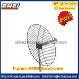Hoge Aanwinst Digitale MMDS Downconverter 2500-2700MHz, L.O 1838/1998/2033/2278MHz MMDS onderaan Convertor