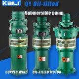 Bomba submergível Oil-Filled da agua potável da bomba de QY (único estágio)