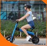 Bicicletta pieghevole elettrica della grande gomma grassa ad alta velocità di potere con il motore senza spazzola
