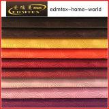 Tissu 100% de capitonnage en gros de velours de grillage de polyester (EDM201626)