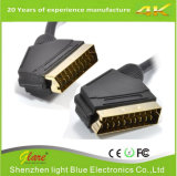 Gute Qualität 21pins Scart zum Scart Kabel