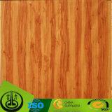 Papel de madeira da melamina da grão, papel decorativo para o assoalho