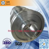 Roda dobro do forjamento do trilho do Heave da flange do OEM ASTM 1060
