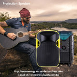 Active Portable LED Projection Speaker Video Player