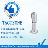 La meilleure qualité Zinc Alloy Toilet Partition Cubicle Fitting Supporting Legs