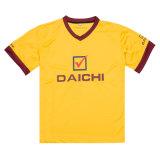 승진 (TS008W)를 위한 로고에 의하여 주문을 받아서 만들어지는 면 t-셔츠