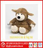 Hond van het Stuk speelgoed van de Pluche van de Tarwe van de lavendel de Zak Verwarmde