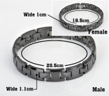 Het zwarte Hematiet van de Kleur parelt Ceramische Armband voor de Functie van de Gezondheid (10071)