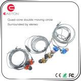 携帯電話のための方法金属のステレオのイヤホーン