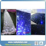Cortina colorida da estrela do diodo emissor de luz do produto o mais novo de China para o casamento/efeito grande da estrela de Commercial/LED