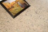 Слябы камня кварца размера кисловочного пятна упорные большие (мраморный текстура)