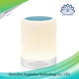 Noten-Fühler-Licht-Lampe professioneller beweglicher mini drahtloser Bluetooth Lautsprecher mit LED-Licht