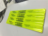 Wholeslae PVC Reflective Custom Slap Bracelets, Reflective Slap Wraps