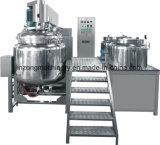 mezclador de emulsión del vacío 500L para la crema cosmética/el ungüento farmacéutico