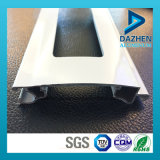 Profil en aluminium de rouleau de porte populaire d'obturateur avec des couleurs personnalisées de taille