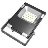 최신 판매 옥외 10W LED 투광램프 Osram 3030 IP65 알루미늄 5년 보장