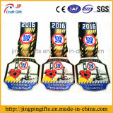 Medalla de cobre promocional del metal del recuerdo con la cinta