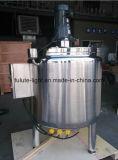 Alimentos Acero inoxidable Grado de vapor Calefacción Bebidas Tanque de Mezclado