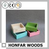 Миниая оптовая коробка Cusomized деревянная