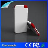 Bewegliche Aufladeeinheit kundenspezifische Kreditkarte-Energien-Bank des Firmenzeichen-4000mAh
