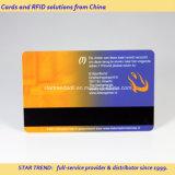 4개의 색깔 할인 카드로 플라스틱 자석 줄무늬 카드