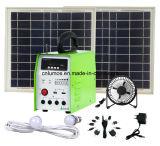 Sonnensystem 20W mit FM Radio und MP3-Player